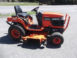2001 Kubota Bx2200 4x4 – Pto / 3 - Point Hitch – Kubota Diesel photo