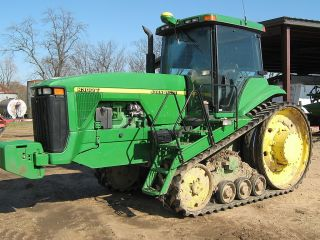 John Deere 8300t Track Tractor Auto Steer Ready Farm Challenger Construction Cat photo