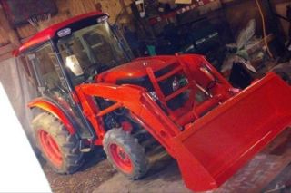 2007 Kubota L3240 Tractor La514 Loader photo