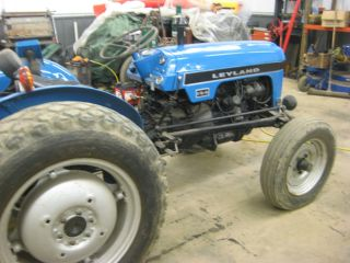 Leyland 154 Farm Tractor In Excellant Condition With Loader And Parts Tractor. photo