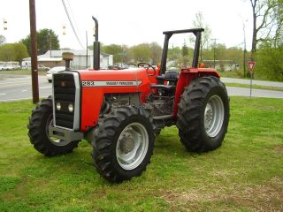 1996 Massey Ferguson 283 4 X 4 Tractor Only 573 Hours photo