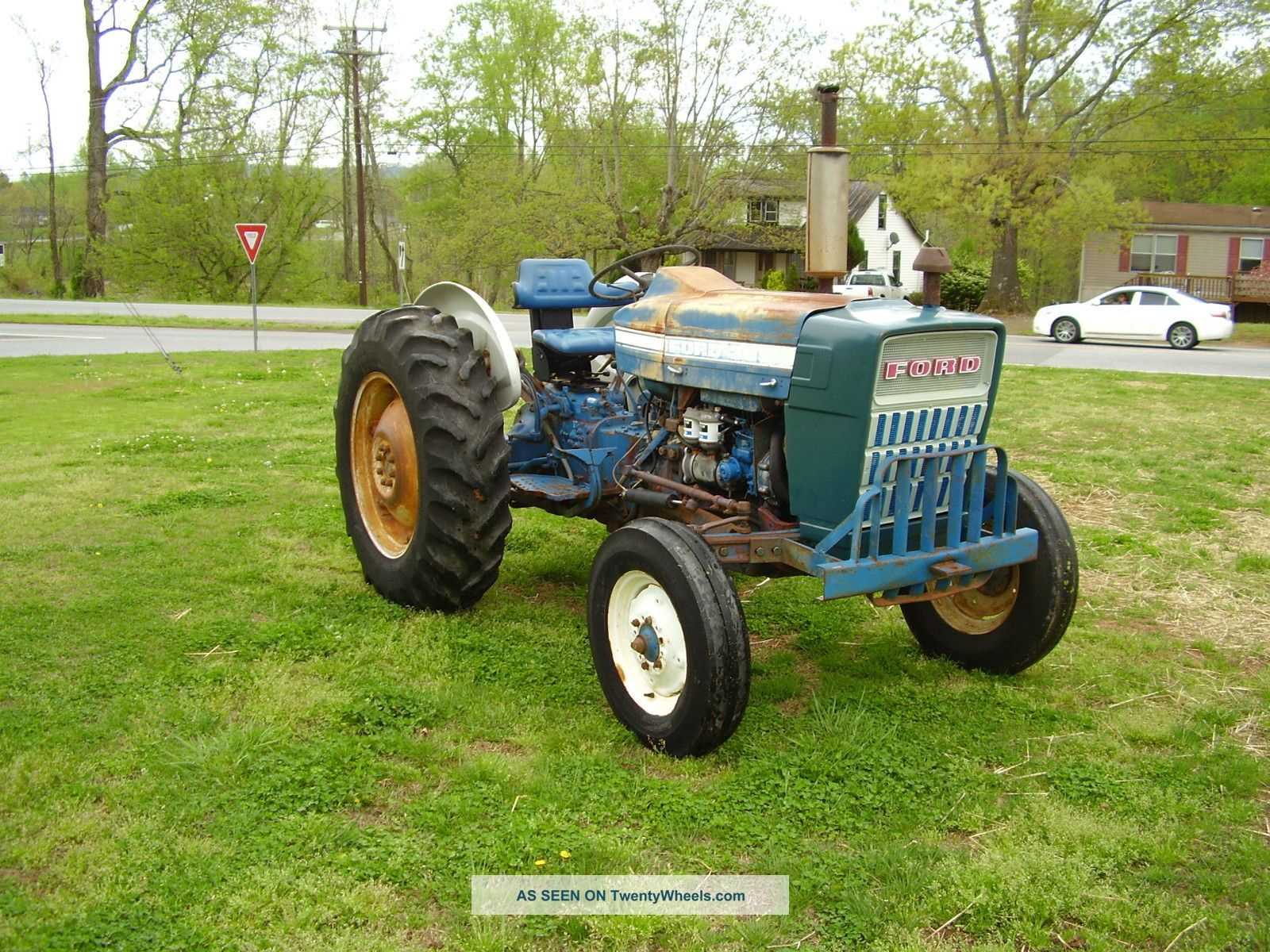 Ford 3000 Tractor Manual : Ford diesel wd power steering tractor