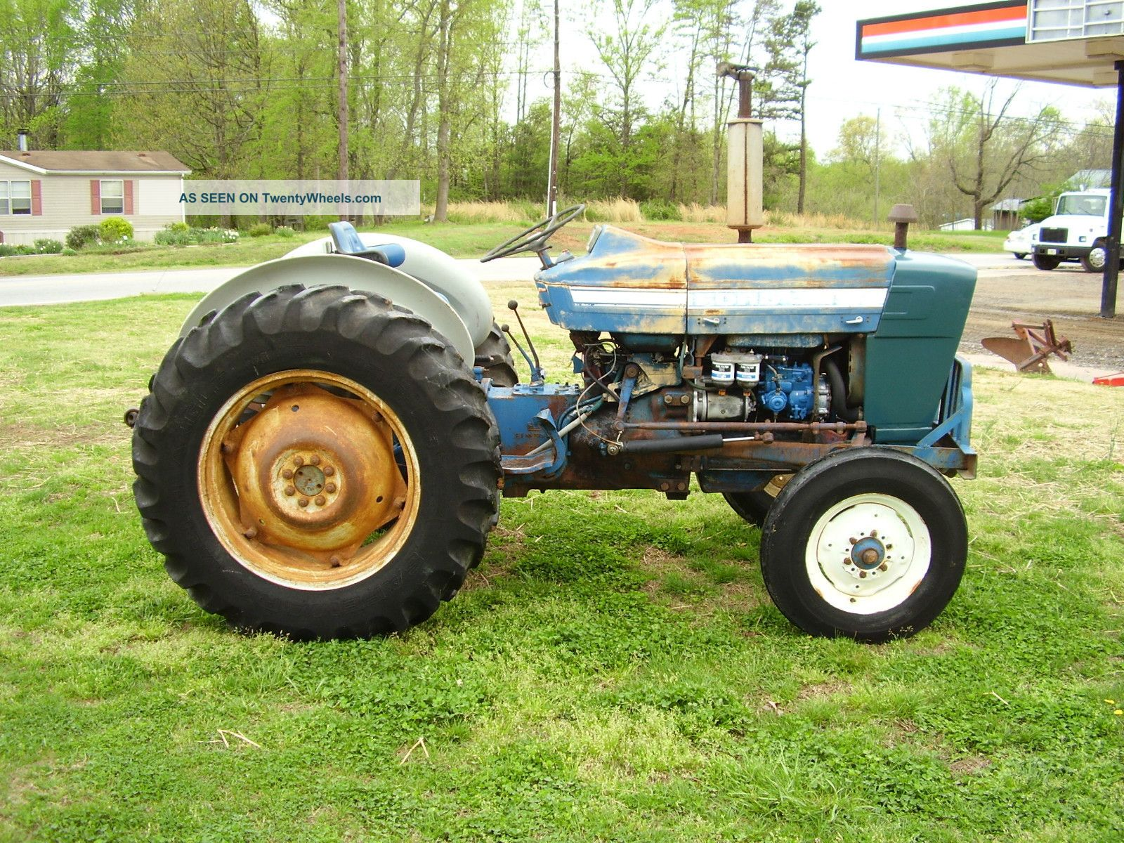 Ford 3000 Rims : Ford tractor power steering