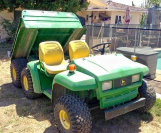 2002 John Deere Gator 6x4 Diesel W/ Power Dump Yanmar Wow photo