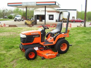Kubota Bx 1850 4 X 4 Mower Tractor photo