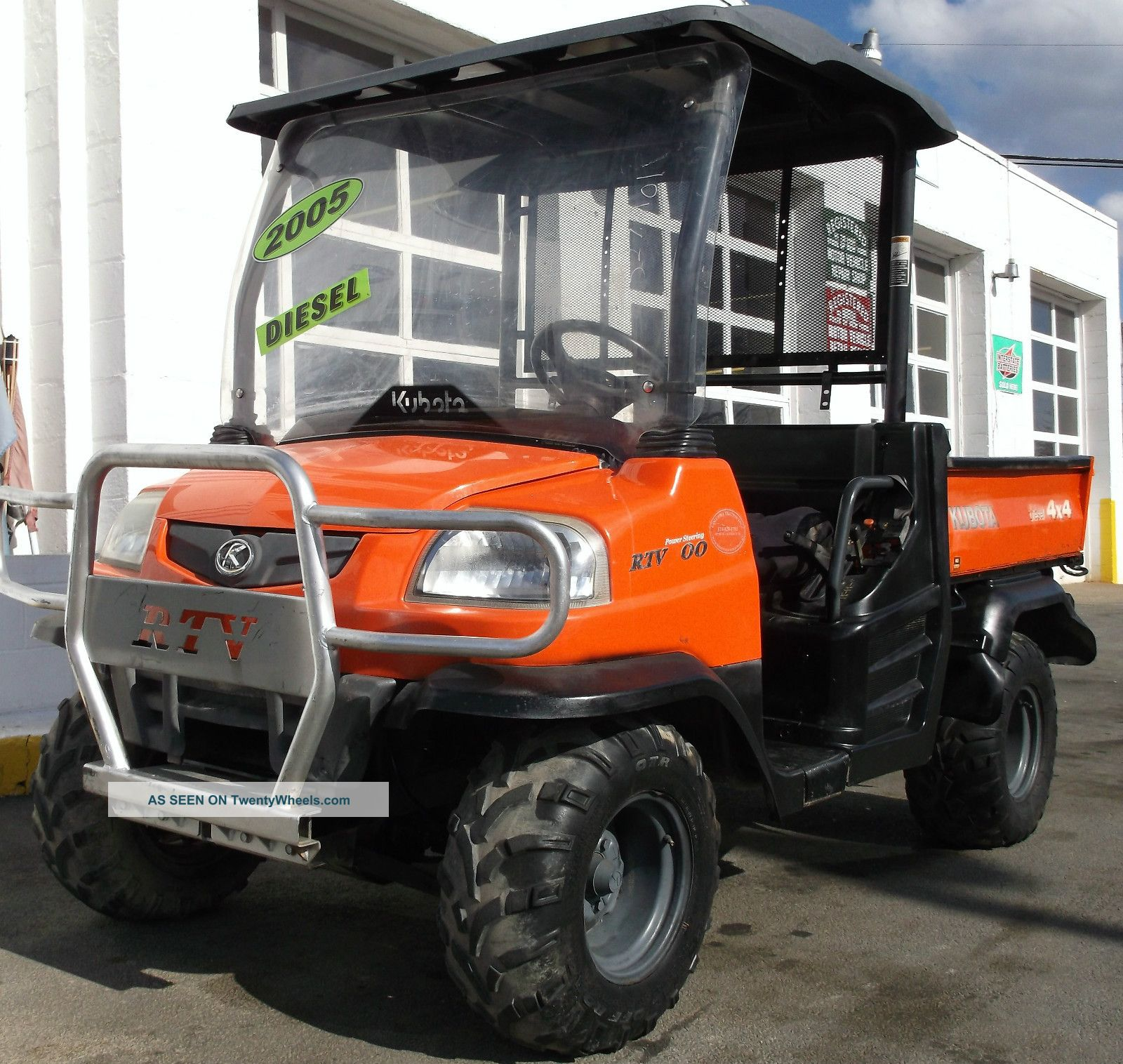 2005 Kubota Rtv 900 Diesel 4x4 Hydraulic Dump Back L@@k Watch Video Utility Vehicles photo