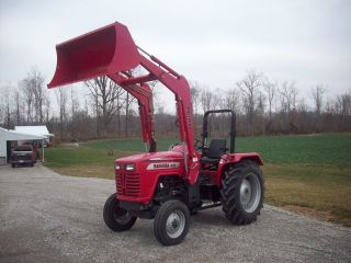 2009 Mahindra 4025 W/ml 232 Qt Loader,  Bucket & Joystick photo