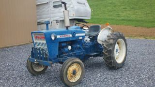 1974 Ford 2000 With 1252 Hrs photo
