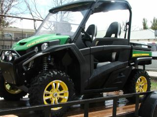 2012 John Deere Gator Rsx 850i With Lamar Trailer photo