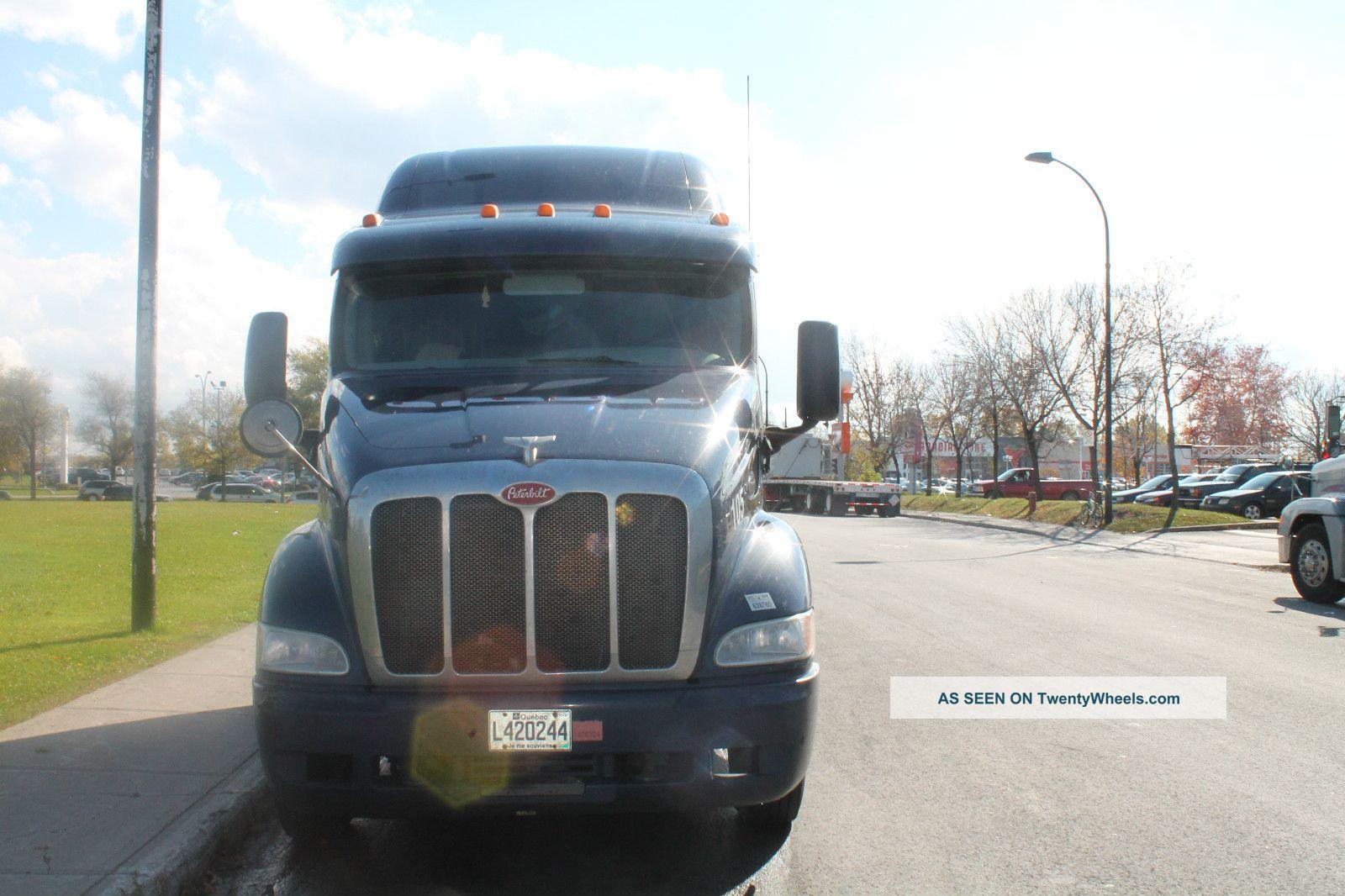 Semi Truck Transmissions : Peterbilt truck engine type c spd