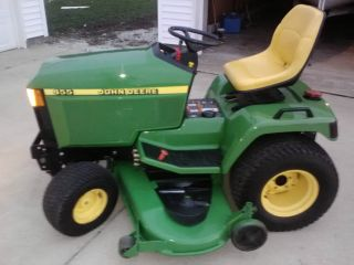 Very,  Very Well Cared For John Deere 455 Diesel Tractor Mower photo