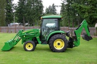2009 John Deere 4720 W/loader,  Backhoe & Bucket photo