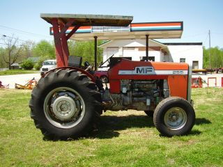 Orignal Massey Ferguson 255 Tractor Only 1349 Hours photo