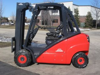 2006 Linde H35d 7000 Lb Capacity Forklift Lift Truck Solid Pneumatic Tire photo