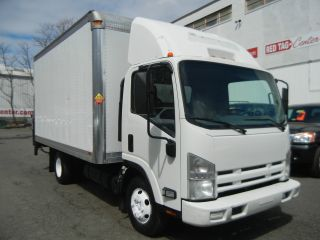 2008 Isuzu Npr Box W4500 Turbo Diesel With Power Lift photo