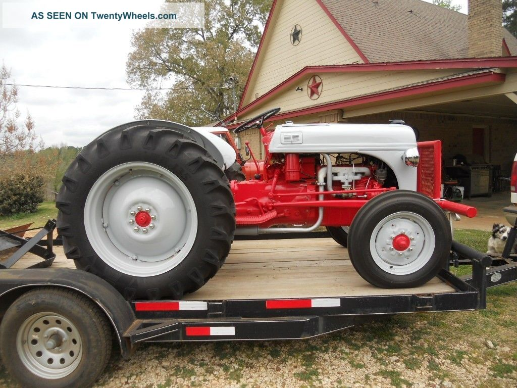 1952 Ford 8n Total Restoration Converted To 12 Volt Near How Convert A