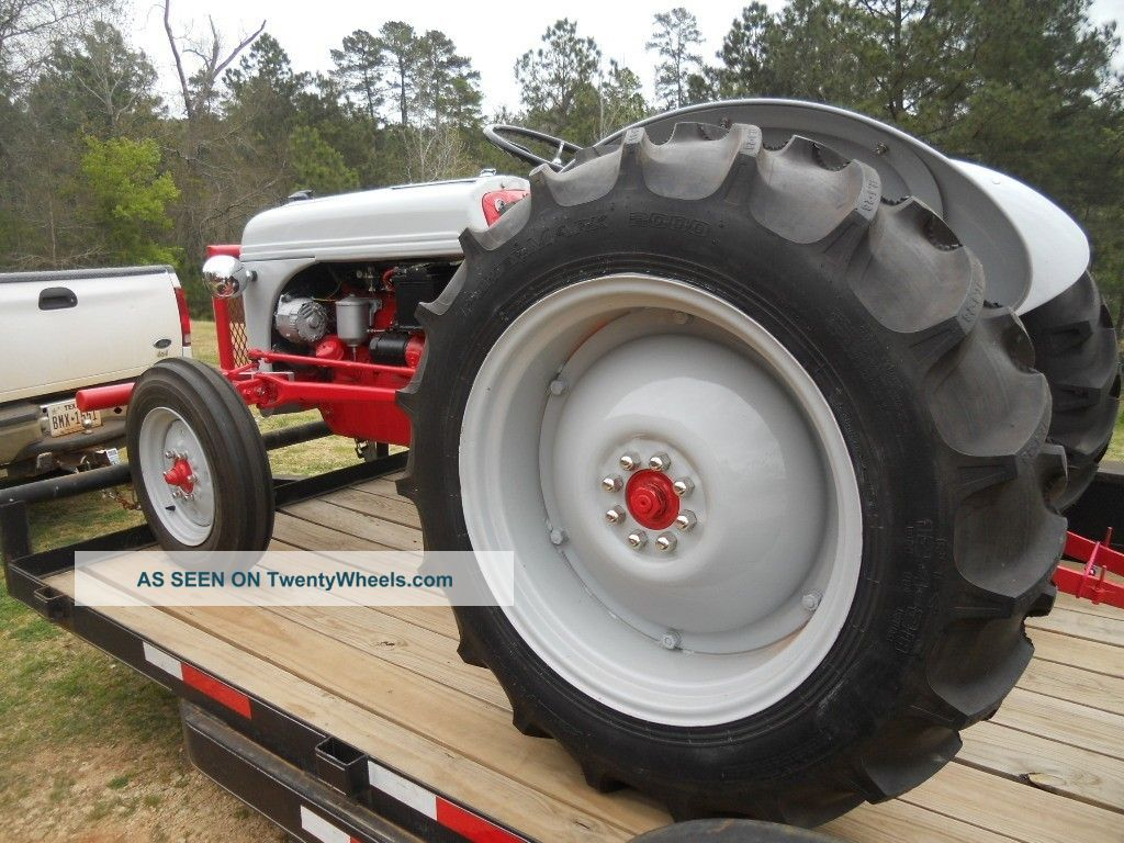 1952 Ford 8n Total Restoration Converted To 12 Volt Near How Convert A Tractors Photo 8