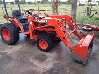 Kubota Tractor,  B7500,  Loader,  4x4, photo