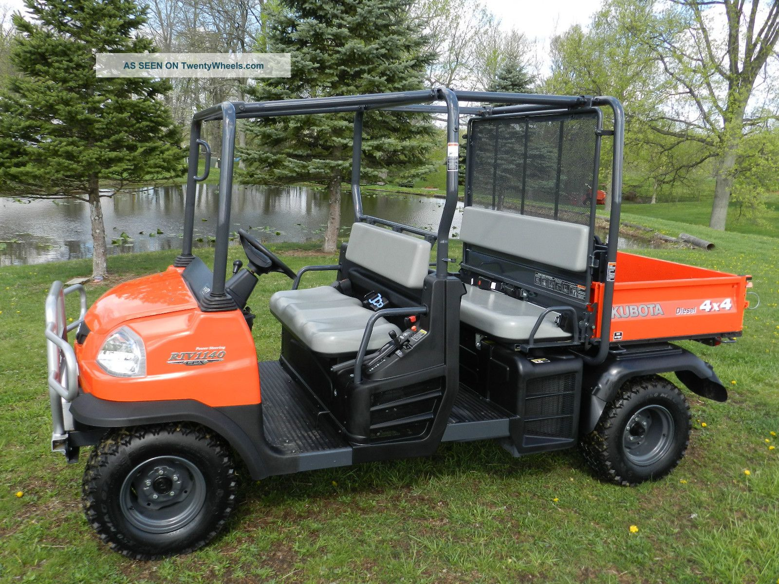 2013 Kubota Rtv 1140 Cpx - Double Seater - Hydraulic Dump Bed - Diesel 4x4 Utility Vehicles photo