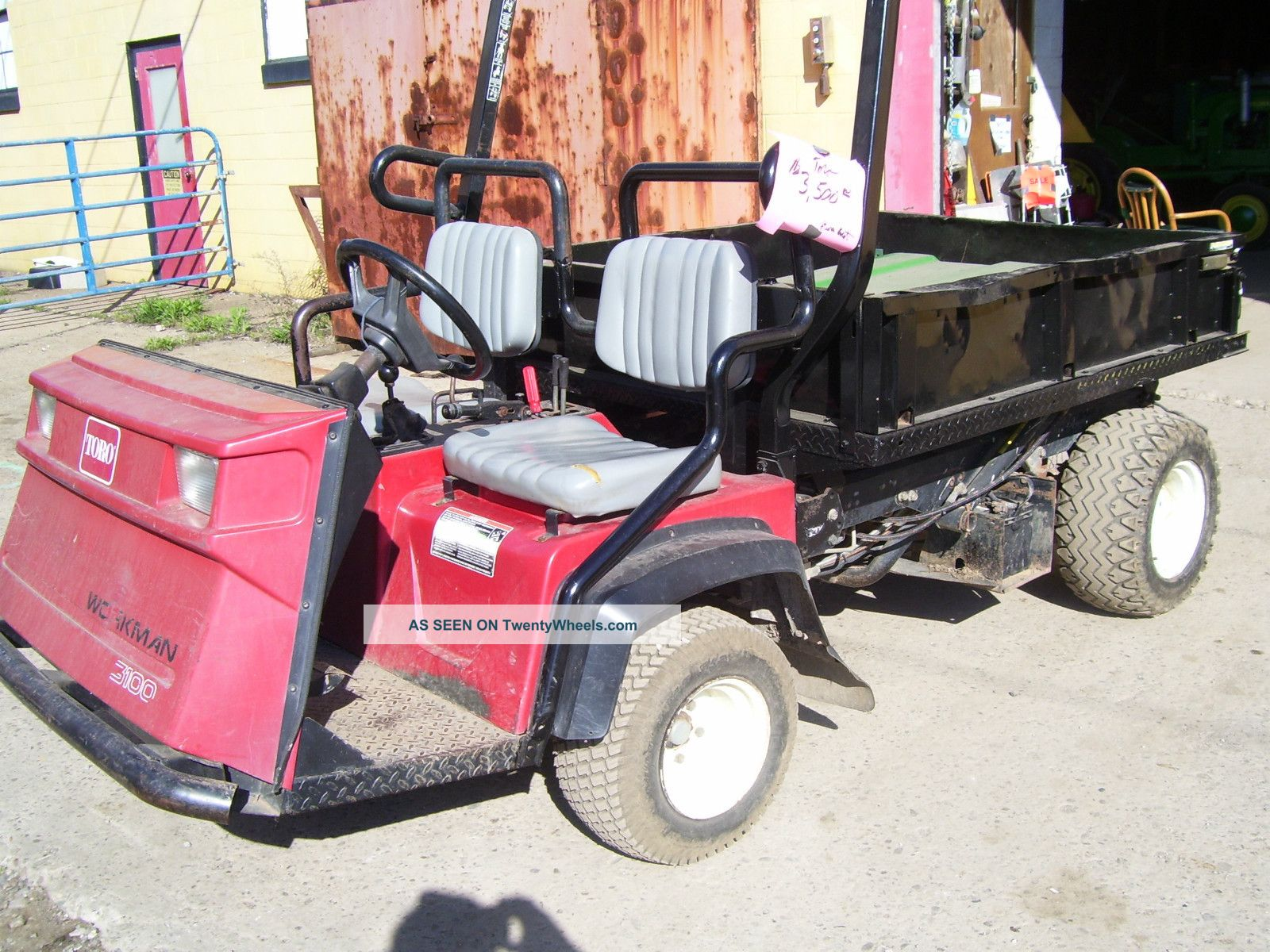 Toro Workman 3100 Utility Cart Utility Vehicles photo