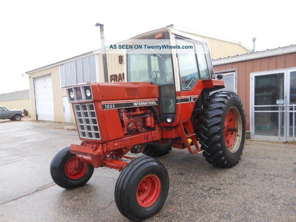 Farmall Tractor Models : Ih farmall diesel tractor late red stripe model
