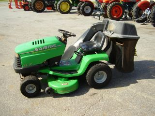 John Deere Sabre 14.  5 Hp / 38 Inch Cut Riding Mower photo