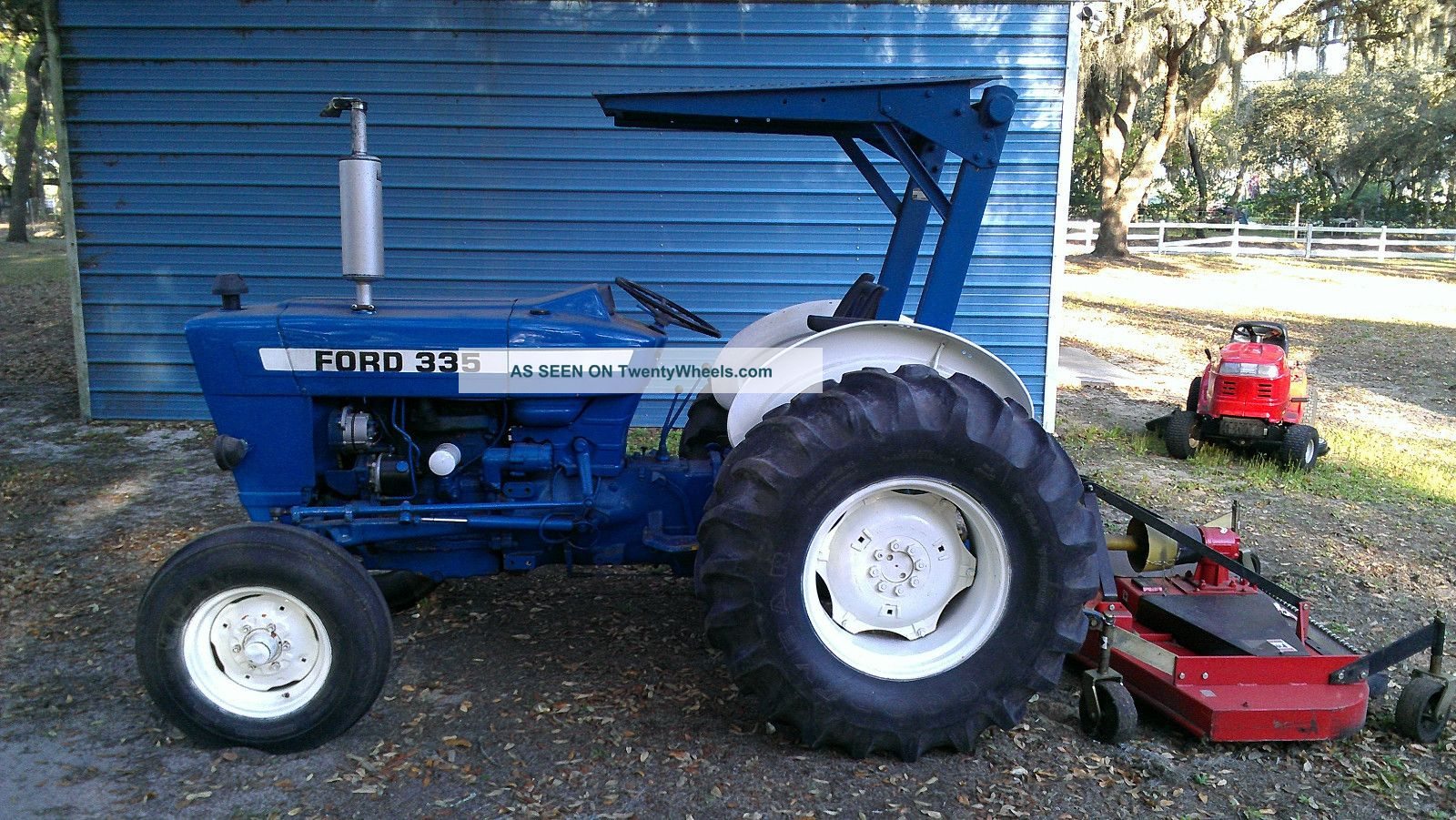 Ford Tractor 335 1979 Tractors photo