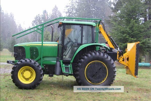 2010 Boom Mower W/ 2006 John Deere 6615 Tractor Tractors photo