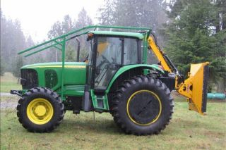 2010 Boom Mower W/ 2006 John Deere 6615 Tractor photo