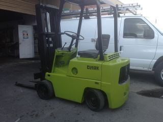 4000 Lbs. ,  Clark Forklift. photo