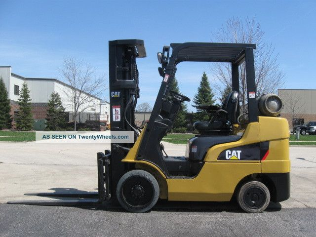 2008 Caterpillar C6000 6000 Lb Capacity Lift Truck Forklift Triple Stage Mast Forklifts & Other Lifts photo