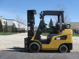 2008 Caterpillar C6000 6000 Lb Capacity Lift Truck Forklift Triple Stage Mast photo