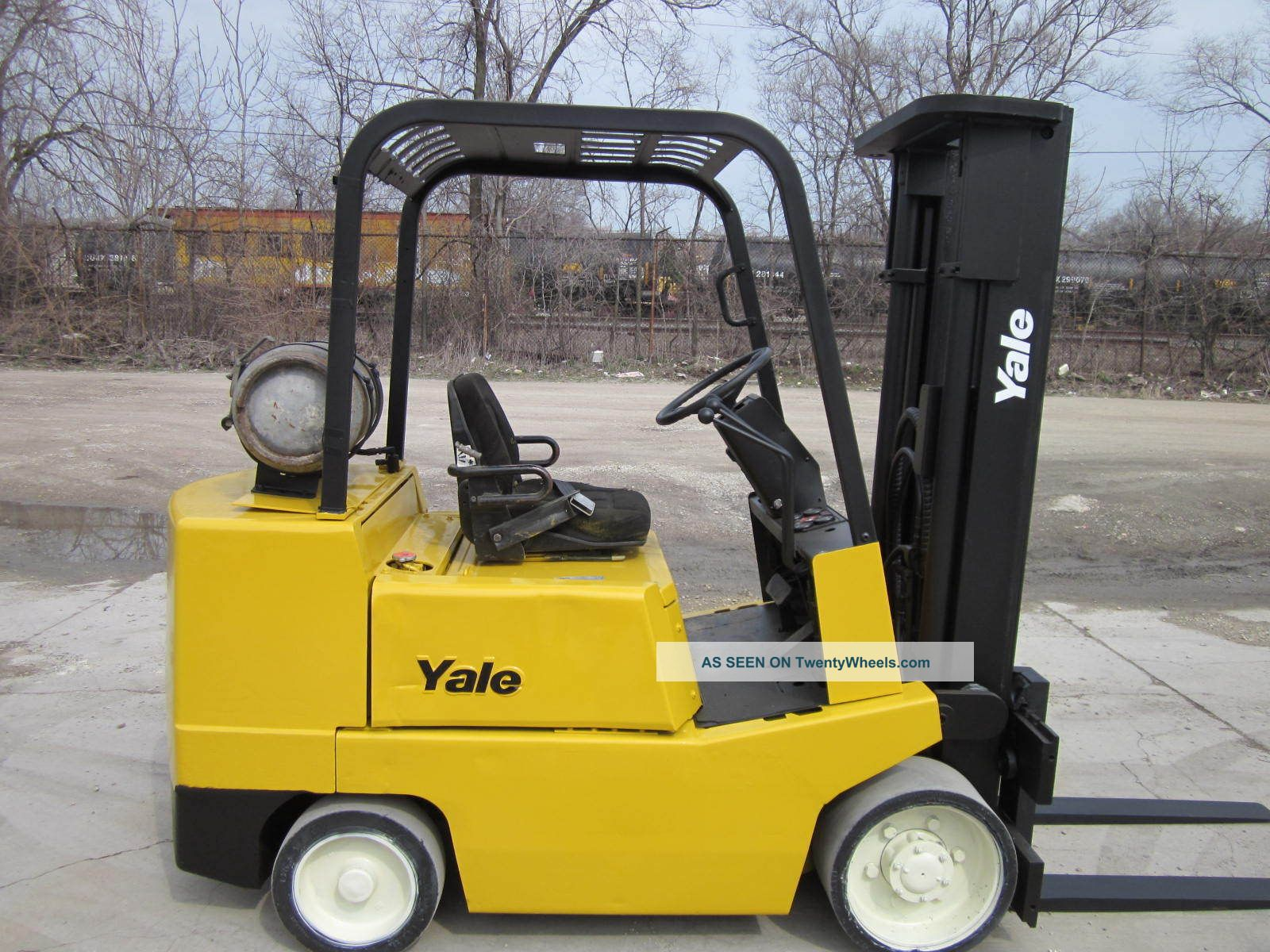 Yale Glc060 Forklift Lift Truck Hilo 6,  000lbs Hyster Forklifts & Other Lifts photo