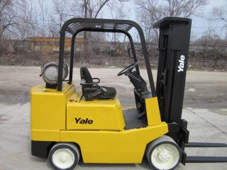 Yale Glc060 Forklift Lift Truck Hilo 6,  000lbs Hyster photo