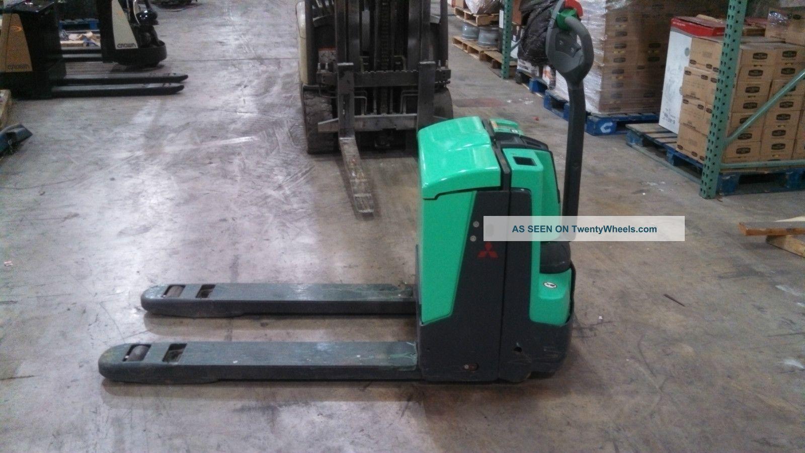 2011 Mitsubishi Electric Pallet Jack Forklift 24v Forklifts & Other Lifts photo