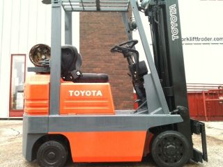 Toyota Cushion 3000 Lb 5fgcu15 Forklift Lift Truck photo