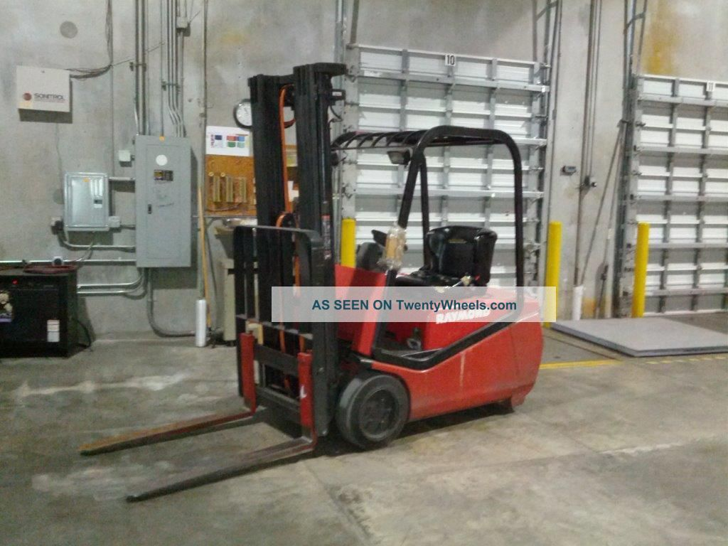 Raymond Rtw40 Forklift (3500 Lbs Lift Capacity) Forklifts & Other Lifts photo