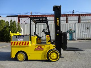 2004 Hoist 30,  000 Lbs Electric Forklift 72 Volts Fork Lift Truck - photo
