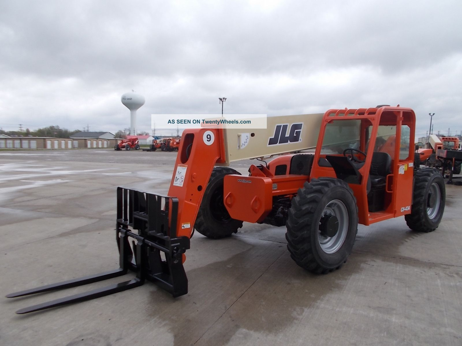 2005 Jlg G9 - 43a Telescopic Telehandler Forklift Lift 9000 Lb Capacity W/rotator Forklifts & Other Lifts photo