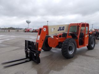 2005 Jlg G9 - 43a Telescopic Telehandler Forklift Lift 9000 Lb Capacity W/rotator photo
