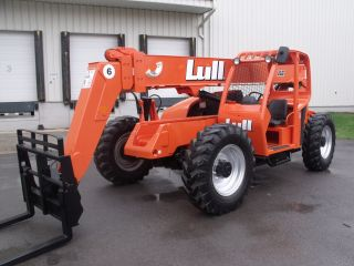 Lull 644e - 42 Telescopic Telehandler Forklift Lift Fresh Paint & Service photo