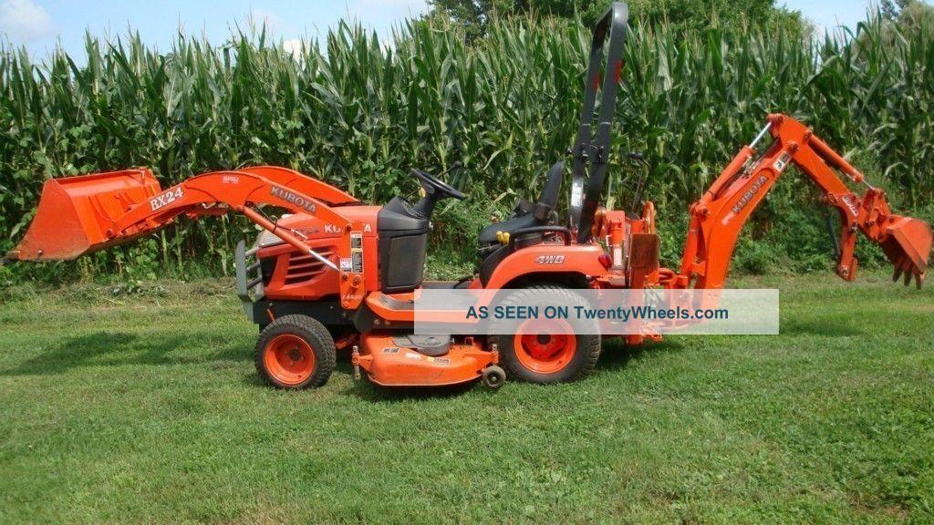 2006 Kubota Tractor Bx 24 Mower - $6,  000 Tractors photo