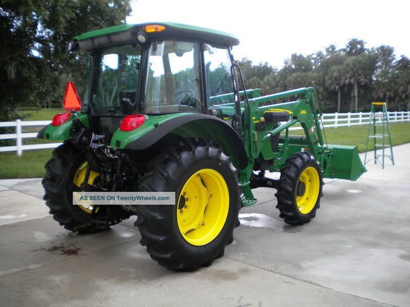 2007 John Deere 5325 Mfwd Tractor W/542 Loader Tractors photo