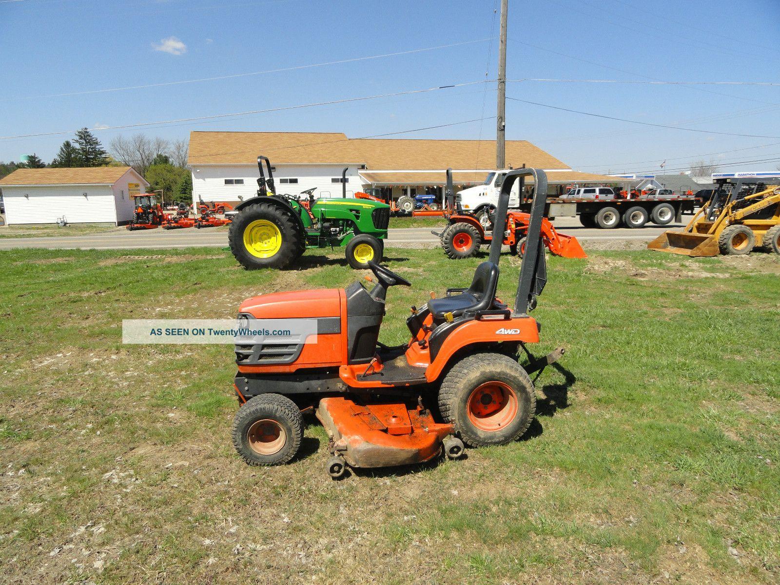 Kubota Bx2200d - 60,  Kubota Bx Tractor,  Bx2200d,  Bx2200d - 60,  Sub - Compact Tractor Tractors photo