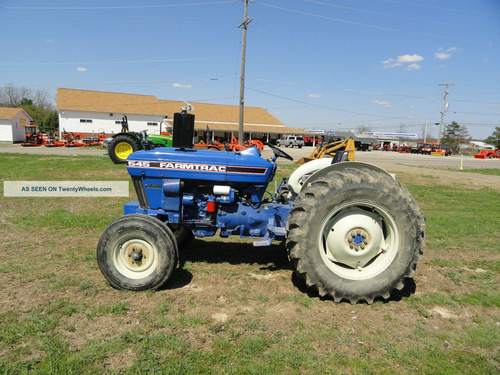 Farm Trac 545,  Farm Trac 545 Tractor,  Tractor Tractors photo