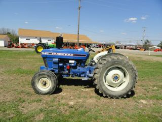 Farm Trac 545,  Farm Trac 545 Tractor,  Tractor photo