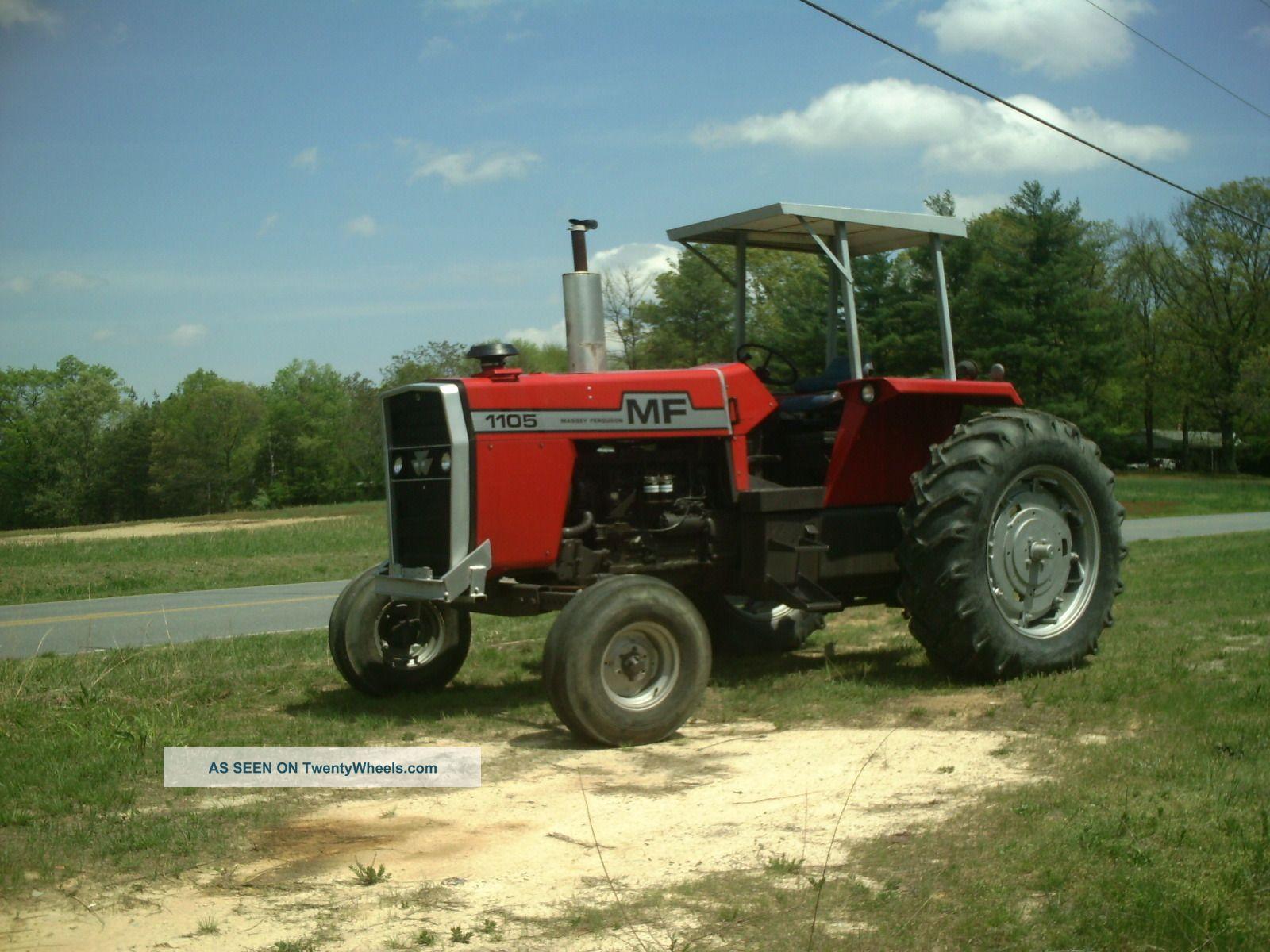 Massey Ferguson 1105 Tractors photo