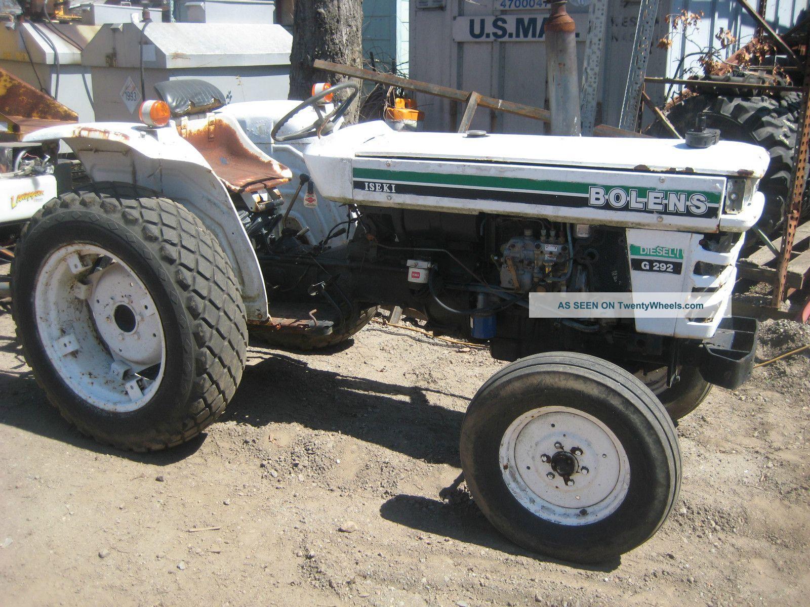 Iseki Tractor Tire Rims : Iseki bolens tractors autos post