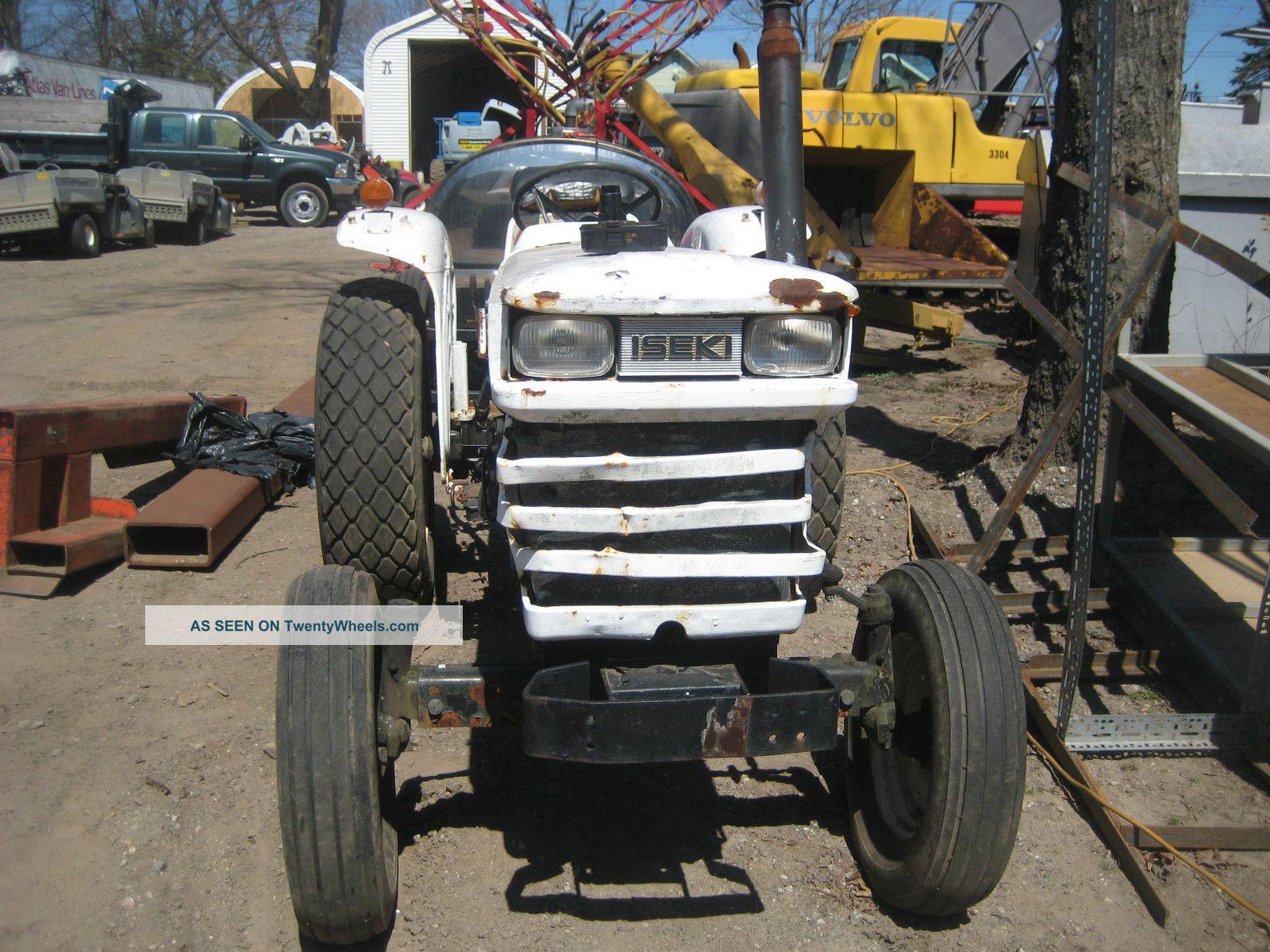 Iseki Diesel Tractor : Bolens iseki g diesel tractor