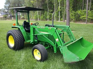 John Deere 990 287 Hours 4x4 photo